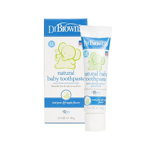 PASTA DENTAL INFANTIL NATURAL BEBE DR BROWN 40 G