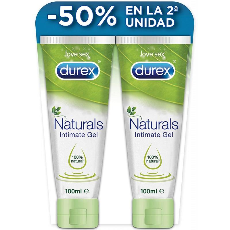 DUREX NATURALS INTIMATE GEL10OML 2ª 50% DTO