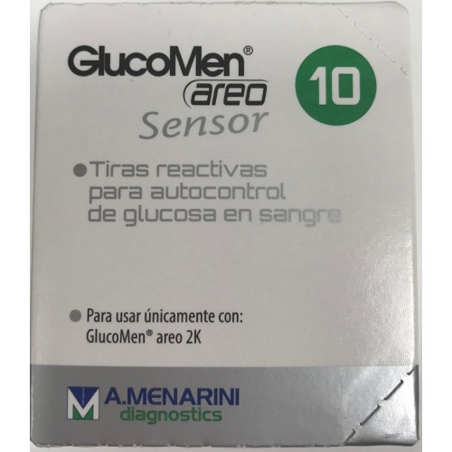 GLUCOMEN AREO SENSOR 10 TIRAS
