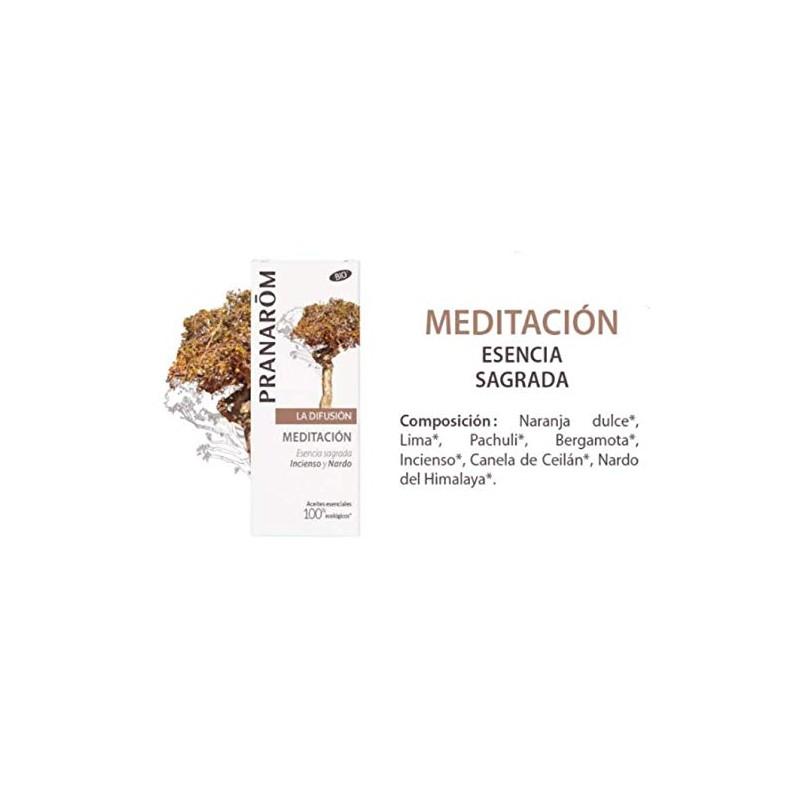 PRANAROM LA DIFUSION MEDITACION INCIENSO Y NARDO