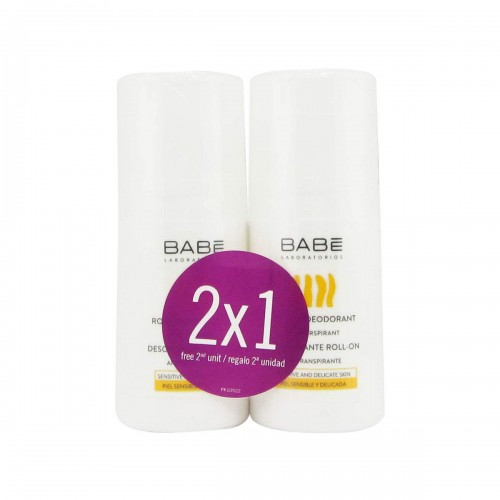 BABE DESODORANTE ROLL ON 50 ML+ DESODORANTE 50ML