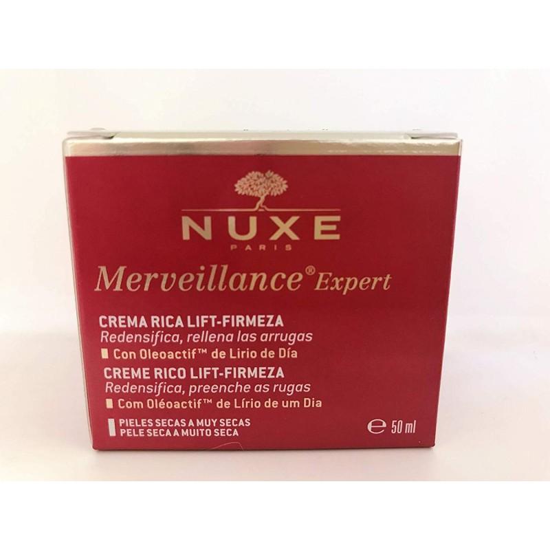 NUXE MERVEILLANCE EXPERT CREMA RICA LIFT FIRM 50