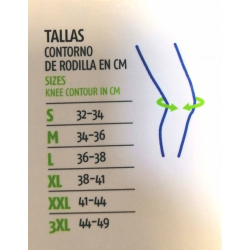 EMO OTTEC RODILLERA ROTULIANA RD521 T. 3XL