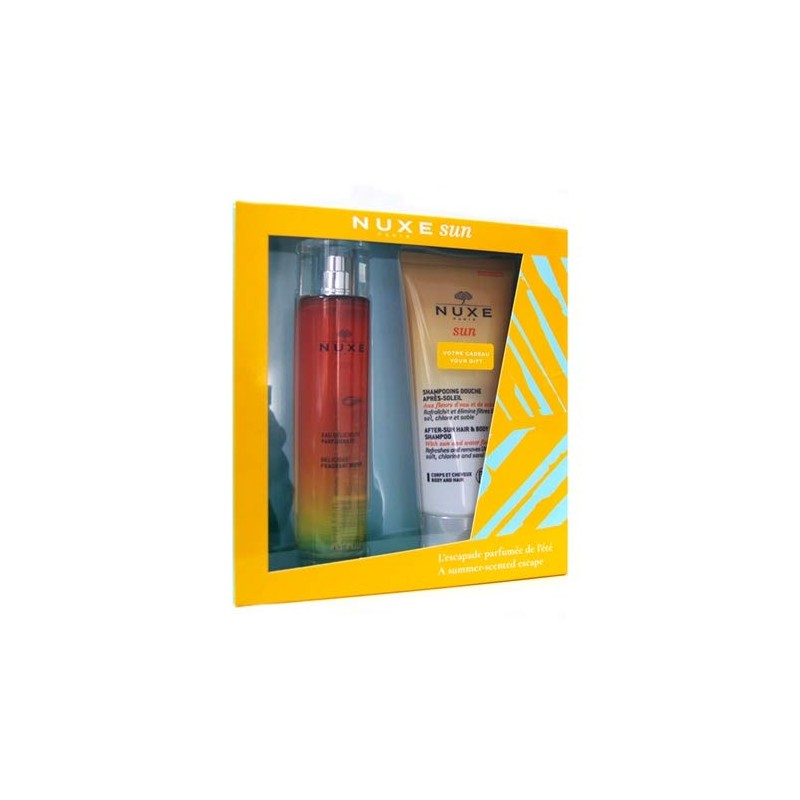 NUXE SUN COFFRET AGUA PERFUMADA+CHAMPU AFTER SUN