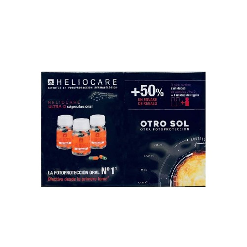 HELIOCARE ULTRA D CAPS PACK 2+1
