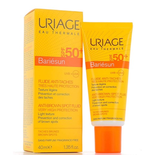 URIAGE BARIESUN SPF 50+ FLUIDO ANTIMANCHAS 40 ML