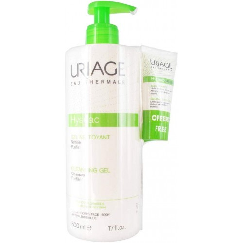URIAGE HYSEAC GEL LIMPIADOR URIAGE 500 ML