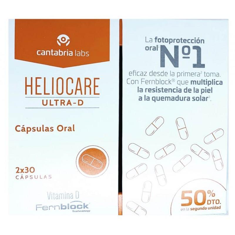 HELIOCARE ULTRA D CAPSULAS 2X30UD 2ªUD 50% DTO