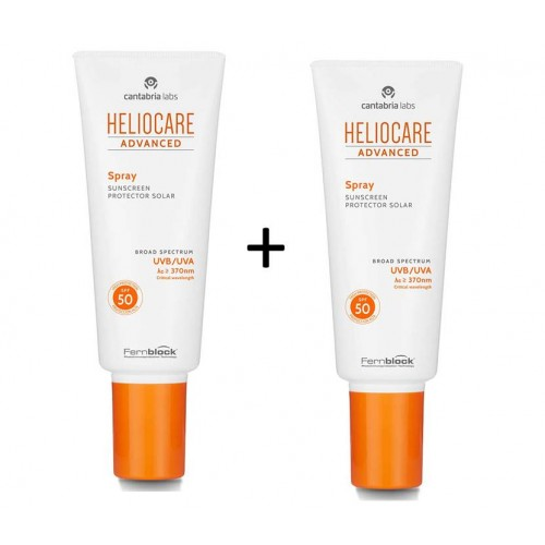 HELIOCARE SPRAY SPF 50 200ML+200ML PACK