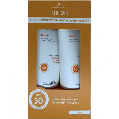 HELIOCARE ADVANCE SPRAY SPF 50 200ML+200ML PACK