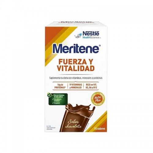 MERITENE CHOCOLATE INSTANT 15SOBRES