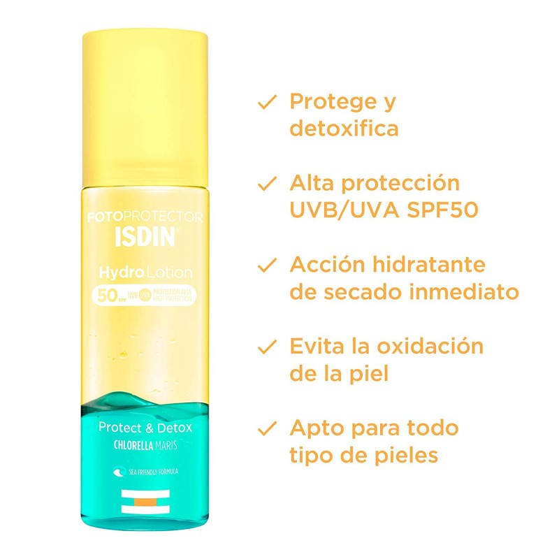 ISDIN FOTOPROTECTOR HYDRO LOTION SPF 50 200 ML