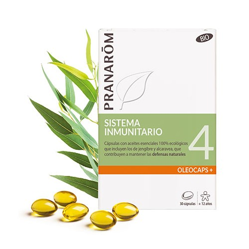PRANAROM OLEOCAPS 4 DEFENSAS NATURALES 30 CAPS