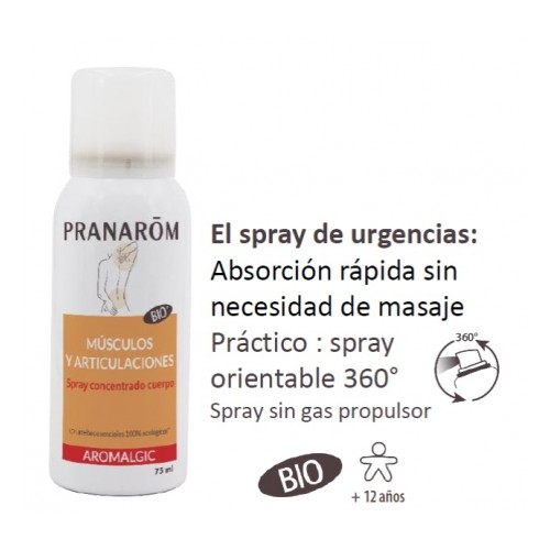 PRANAROM AROMALGIC SPRAY CONCEN MUSC-ARTIC 75ML