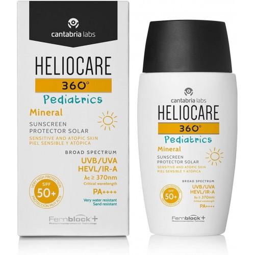 HELIOCARE 360º  PEDIATRICS MINERAL SPF+50 50 ML