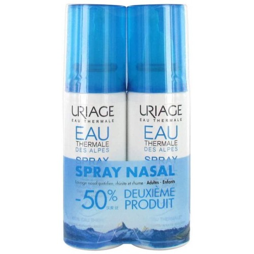 URIAGE EAU THERMALE DES ALPES SPRAY NASAL 2X1