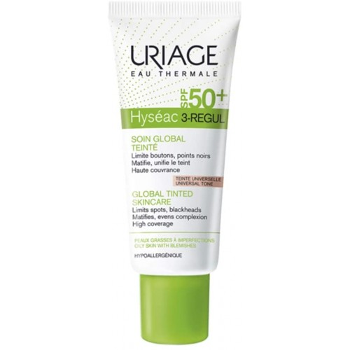 URIAGE HYSEAC 3 REGUL CUIDADO SPF50+ COLOR