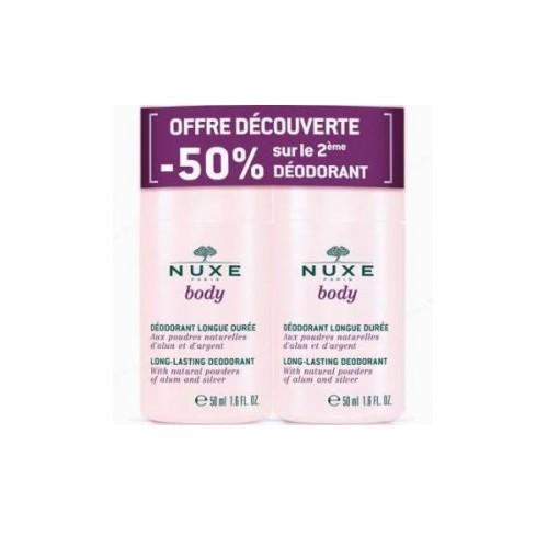NUXE BODY PACK DESODORANTE 2º UNID 50% DTO