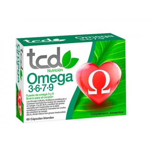 TCD OMEGA 3, 6, 7, 9 TCD NUTRICION 60 CAP