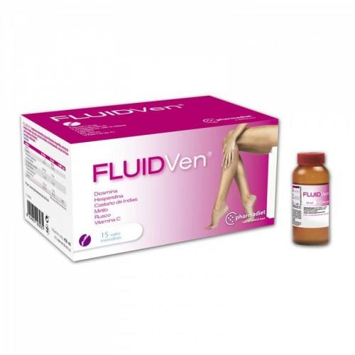 FLUIDVEN 15 VIALES MONODOSIS CIRCULACION