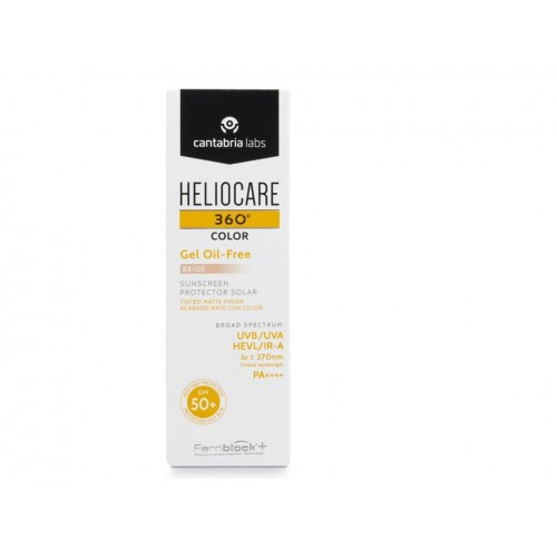 HELIOCARE 360º SPF 50+ COLOR GEL OIL-FREE BEIGE