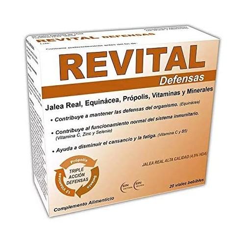 REVITAL DEFENSAS 20 VIALES BEBIBLES