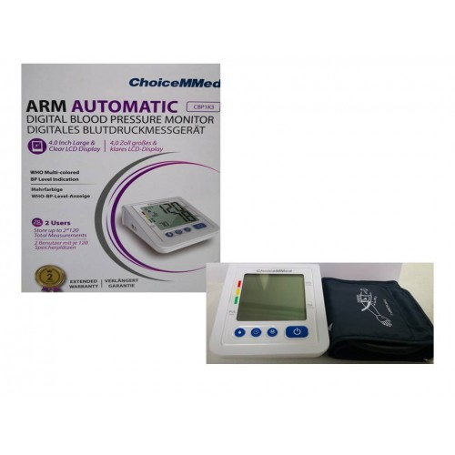 TENSIOMETRO BRAZO ARM AUTOMATIC CBP1K3