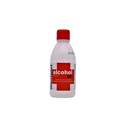 ALCOHOL MONTPLET  96º 250 ML