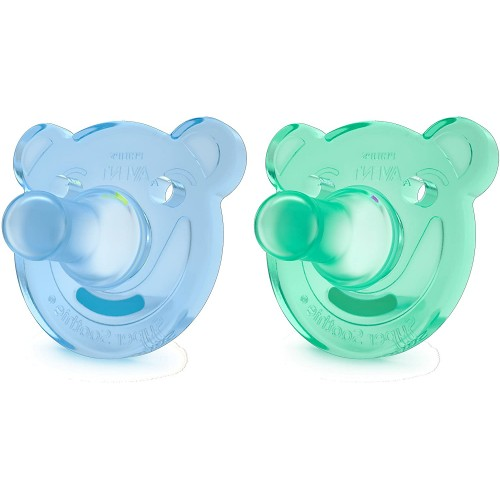 AVENT CHUPETE SILICONA SOOTHIES +3 M NIÑO 194/04