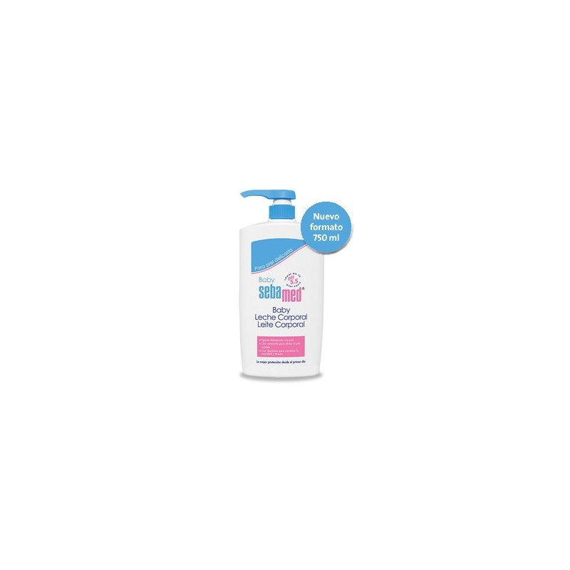 SEBAMED BABY LECHE CORPORAL 750 ML+TOALLITAS RE